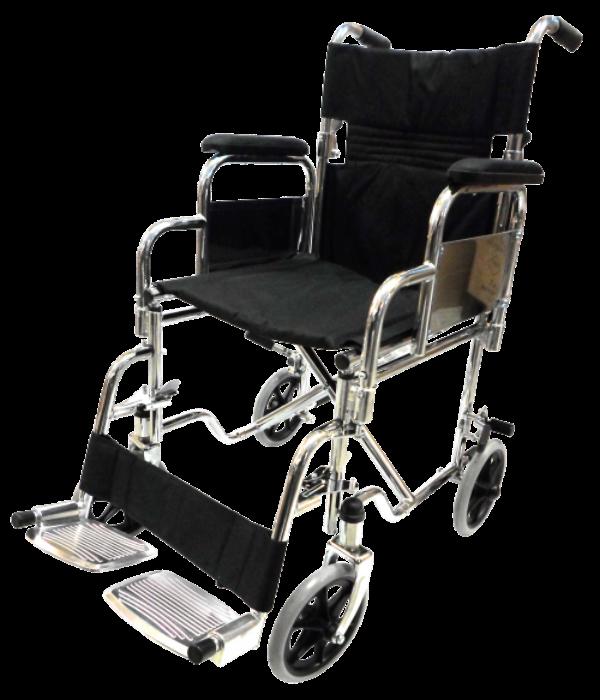Silla de ruedas de traslado con respaldo plegable sp7002 - Silla de traslado ...
