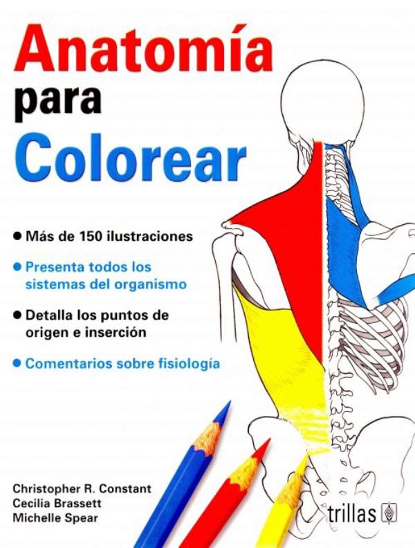 Constant. Anatomia para Colorear