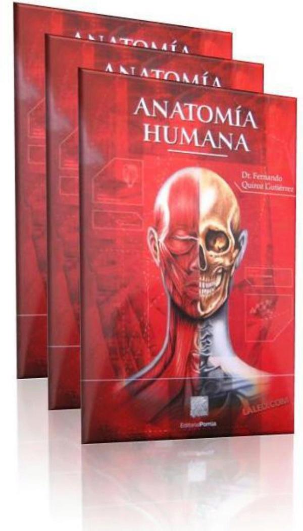 libro de anatomia humana: