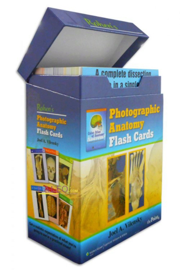 Rohen. Photographic Anatomy Flash Cards