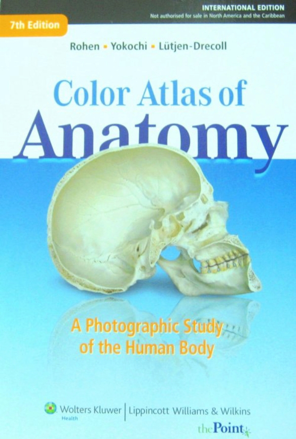 Rohen Color Atlas Of Anatomy A Photographic Study Of The Human Body