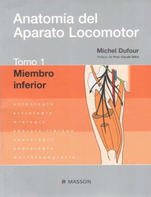 Anatomia del aparato locomotor Tomo 1: Miembro inferior
