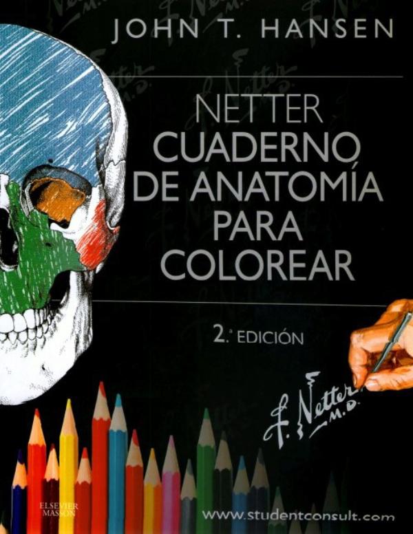 Netter. Cuaderno de anatomia para colorear