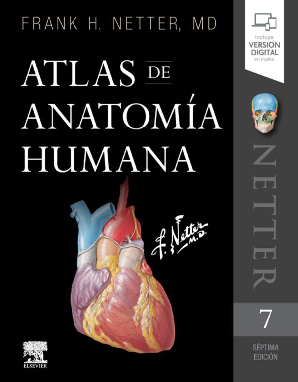 Atlas de anatomía humana (ebook)