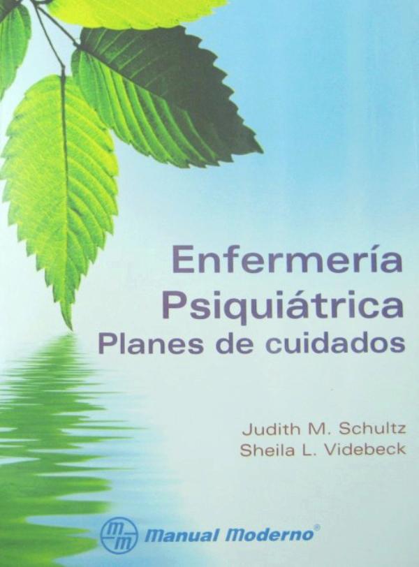 Schultz. Enfermeria psiquiatrica