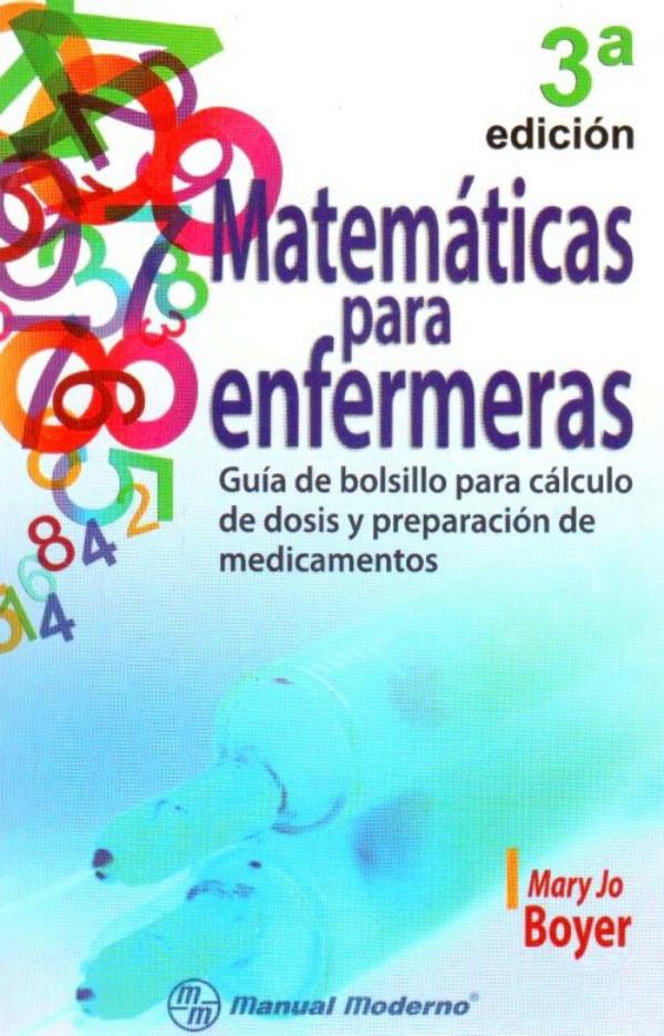 libro matematicas para enfermeras: