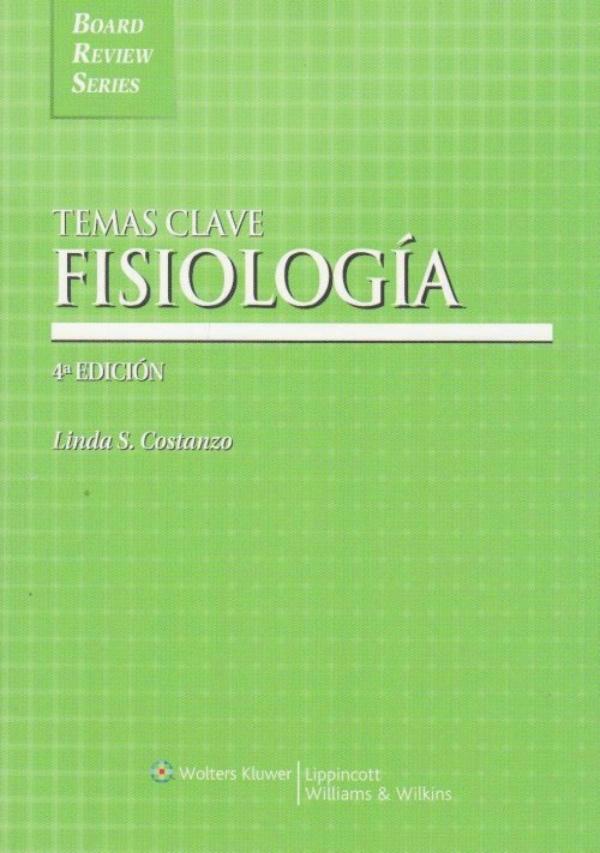 Costanzo. Temas Clave Fisiologia