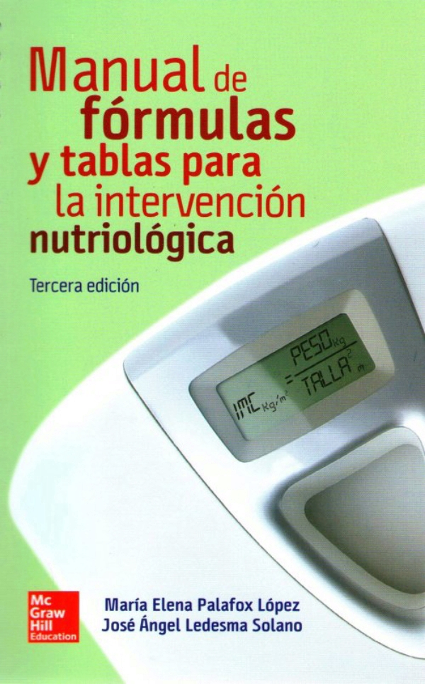 Ledesma manual de formulas y tablas para la intervencion for Manual de acuicultura pdf