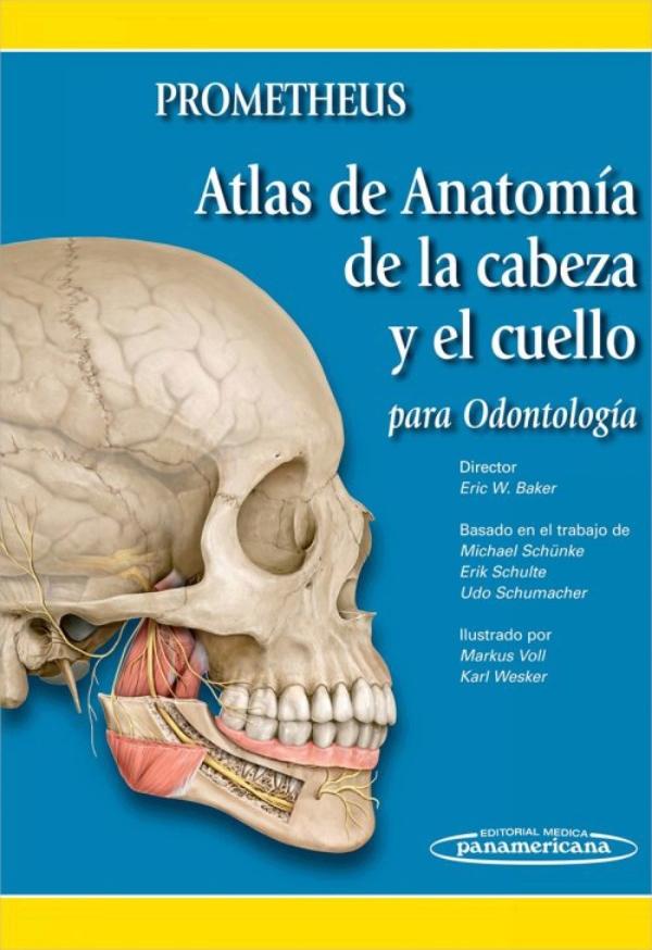 Prometheus. Atlas de anatomia de la cabeza y el cuello para odontologia