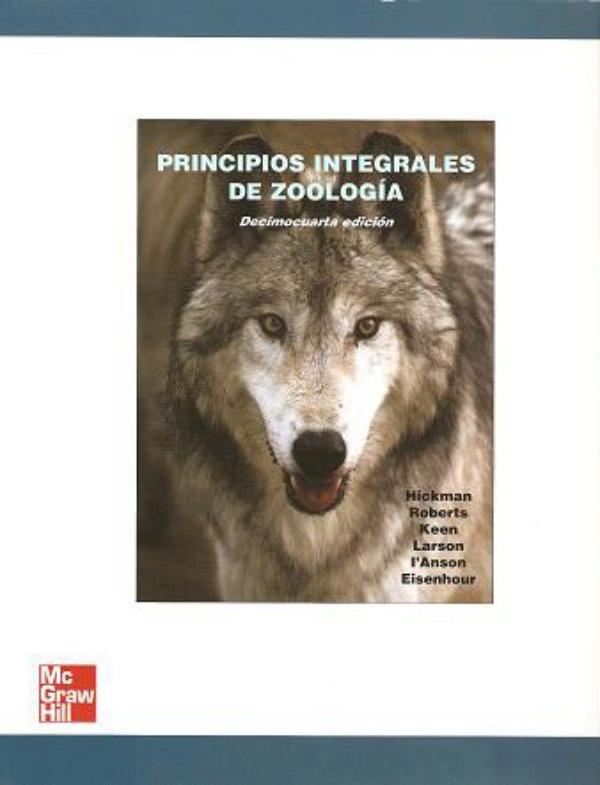 Principios integrales de zoologia hickman 14 edicion